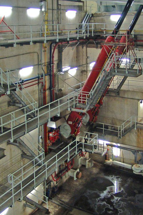 hydraulische installatie, aandrijving, brug