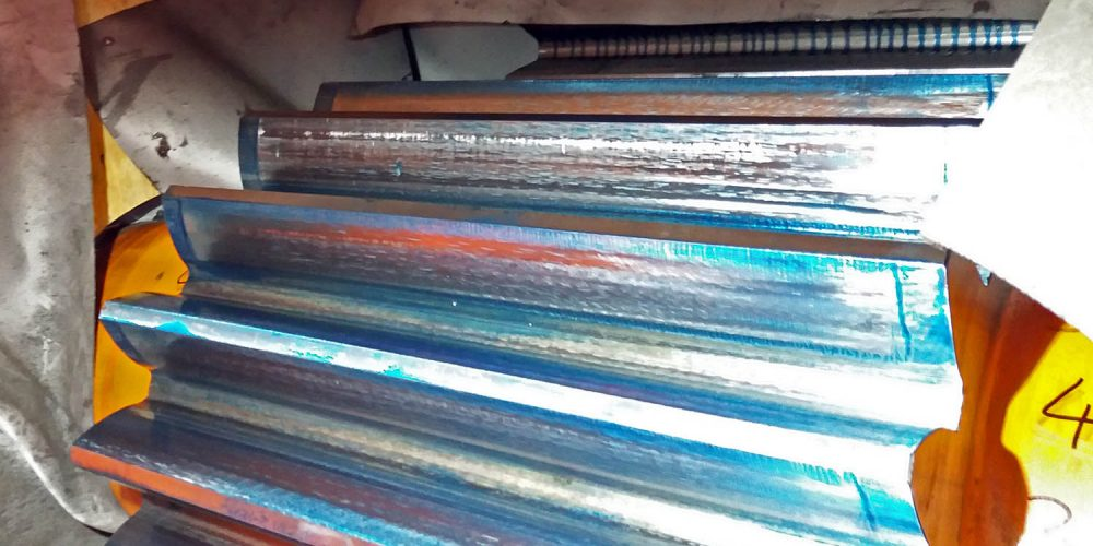 Inspectie, kunstwerk, werktuigbouw, staalconstructies, blauwen