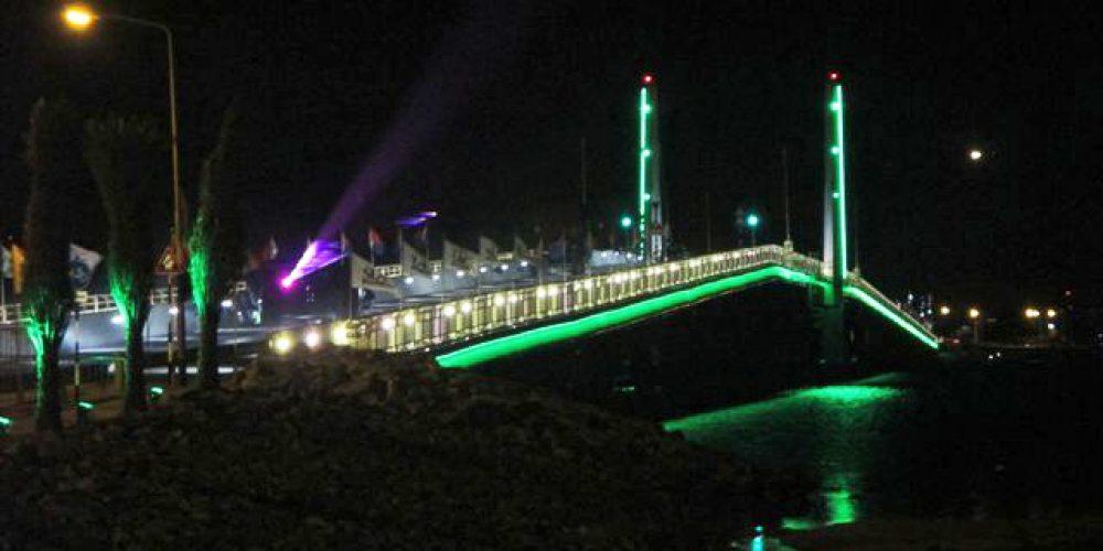 draaibrug nacht